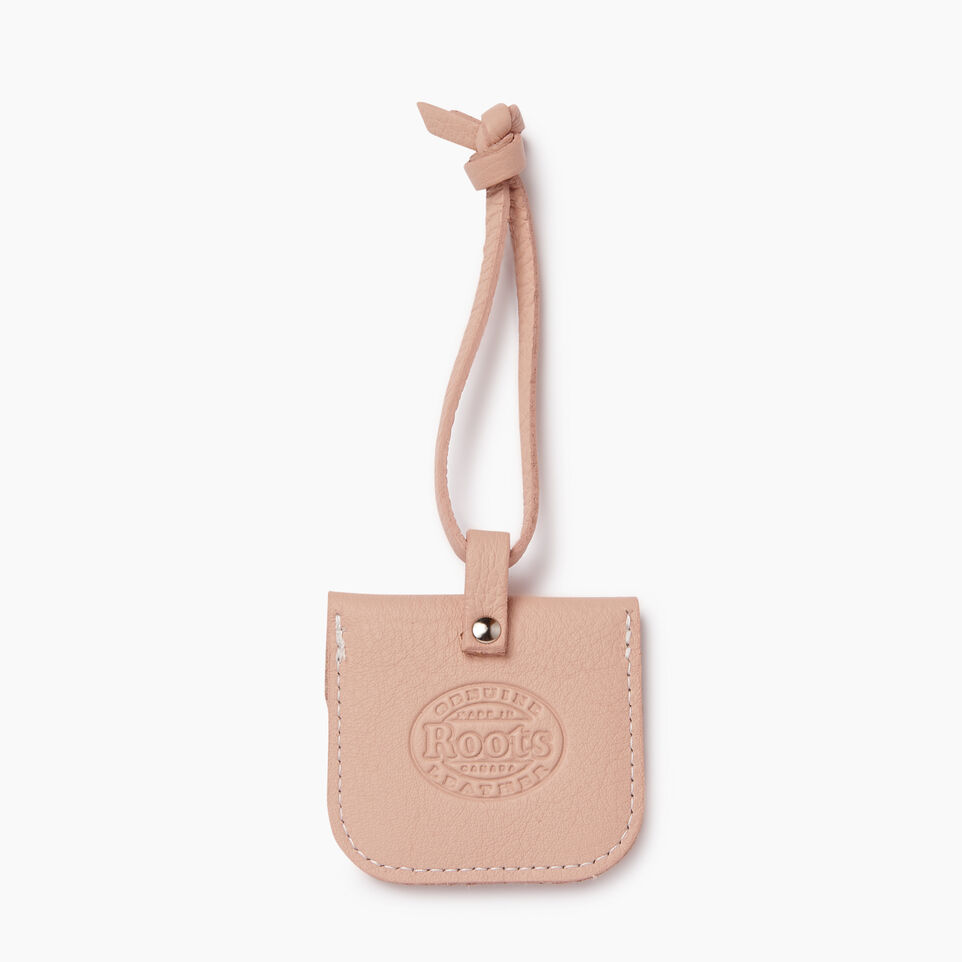 Roots-Leather Leather Accessories-Leather Tie Pouch-Pink Mist-C