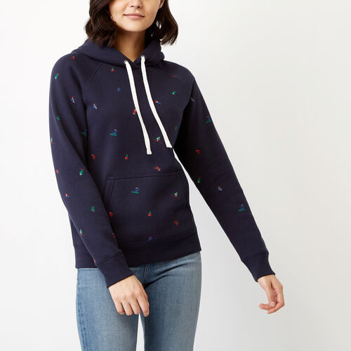 Roots-Winter Sale Women-Skier Boyfriend Hoody-Navy Blazer-A