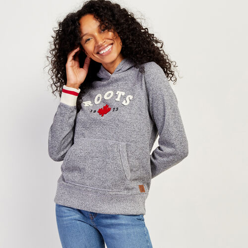 Roots-New For October The Roots Cabin Collection™-Cabin Kanga Hoody-Salt & Pepper-A