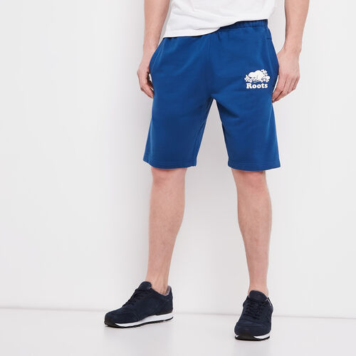 Roots-Men Shorts-Original Terry Short-Active Blue-A