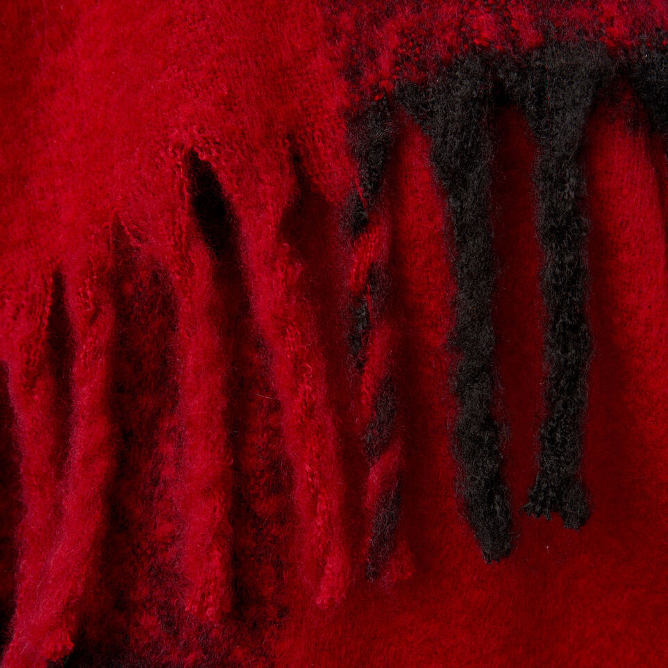 Roots-New For December Today Only: 40% Off Park Plaid Collection-Park Plaid Fluff Scarf-Red-D