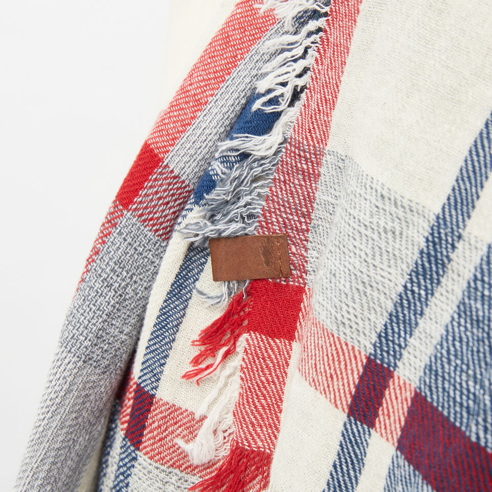 Roots-undefined-Boyfriend Plaid Shawl-undefined-D