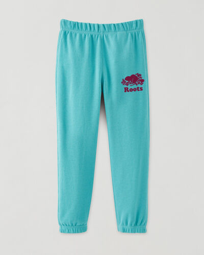 Roots-Kids Toddler Girls-Toddler Original Sweatpant-Blue Turquoise-A