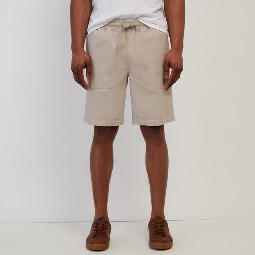Roots-New For April Journey Collection-Journey Short-True Khaki-A