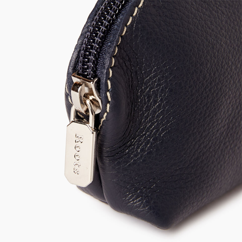 Roots-Leather  Handcrafted By Us Our Favourite New Arrivals-Small Euro Pouch-Ultramarine-D