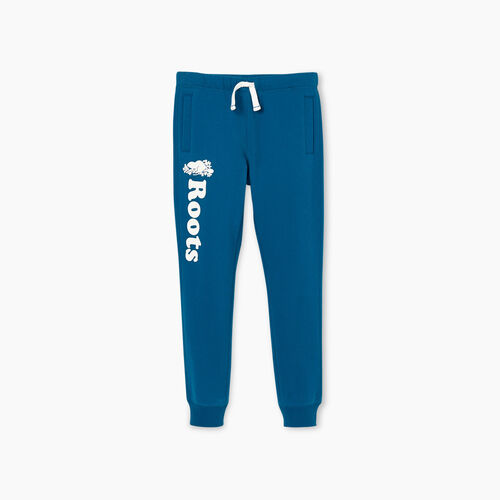 Roots-Kids New Arrivals-Girls Remix Sweatpant-Moroccan Blue-A