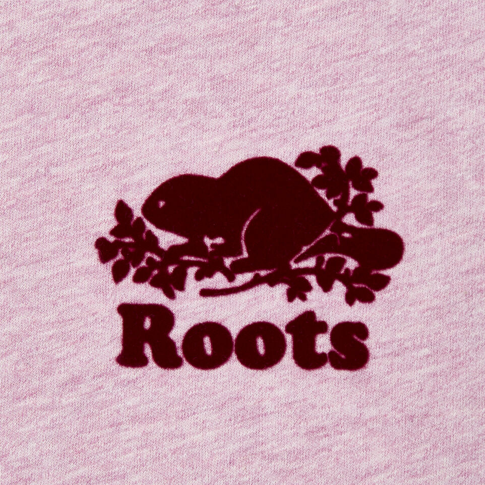 Roots-New For May Women-Womens Baseball Slim T-shirt-Orchid Bouquet Ppr-D