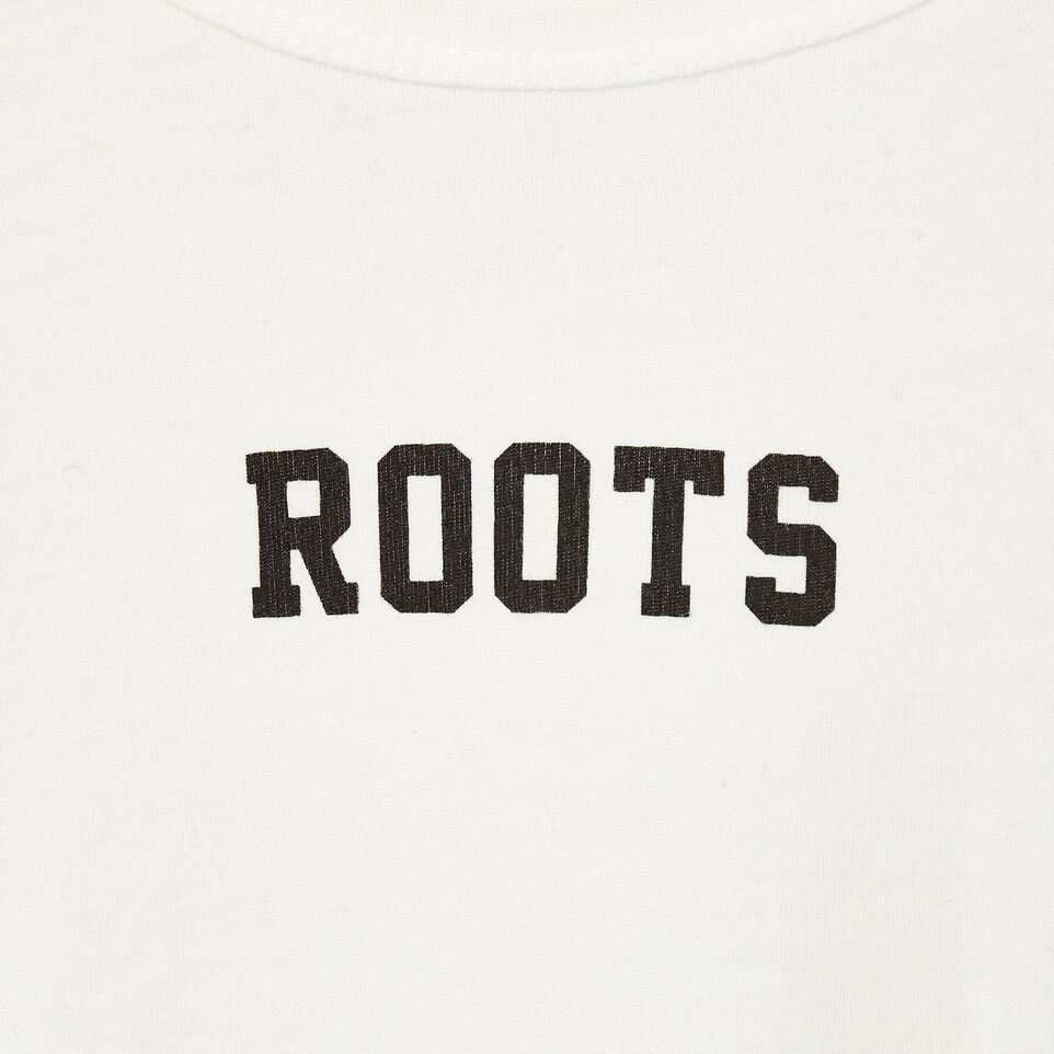 Roots-Kids New Arrivals-Boys 2.0 T-shirt-Ivory-D