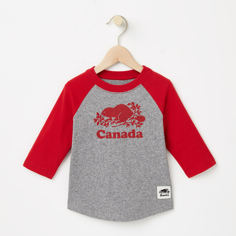 Roots-undefined-Toddler Canada Baseball T-shirt-undefined-A