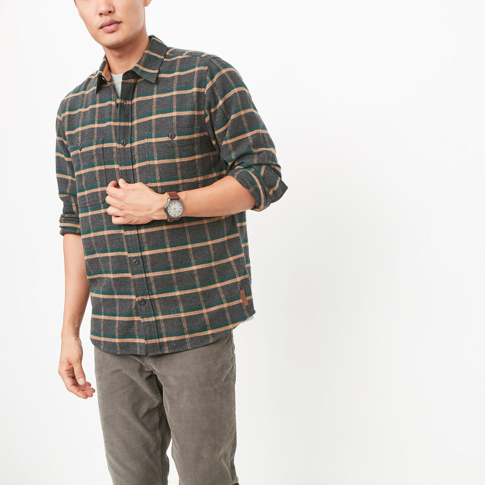 Roots-undefined-Armstrong Flannel Shirt-undefined-A