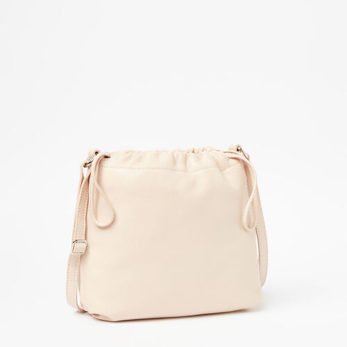 Roots-Sale Leather Bags & Accessories-Mini Drawstring Bag Prince-Blush-A