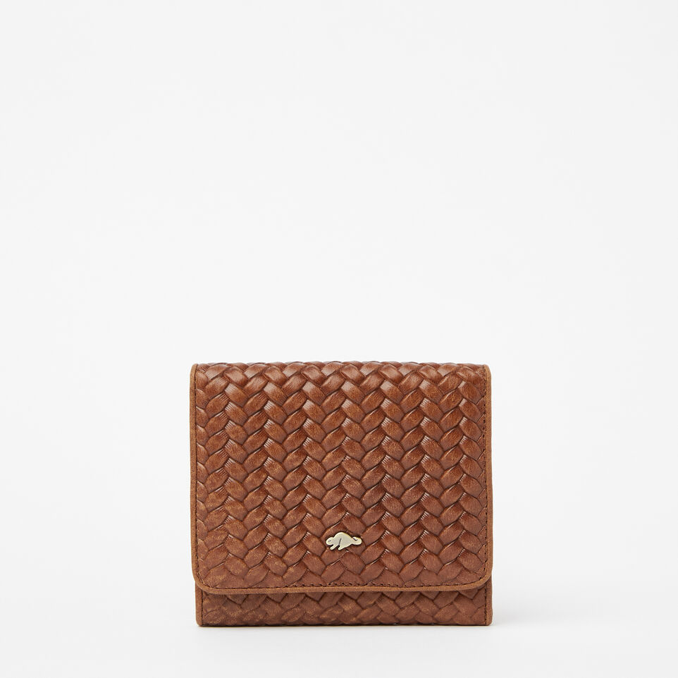 Roots-undefined-Easy Trifold Wallet Woven-undefined-A
