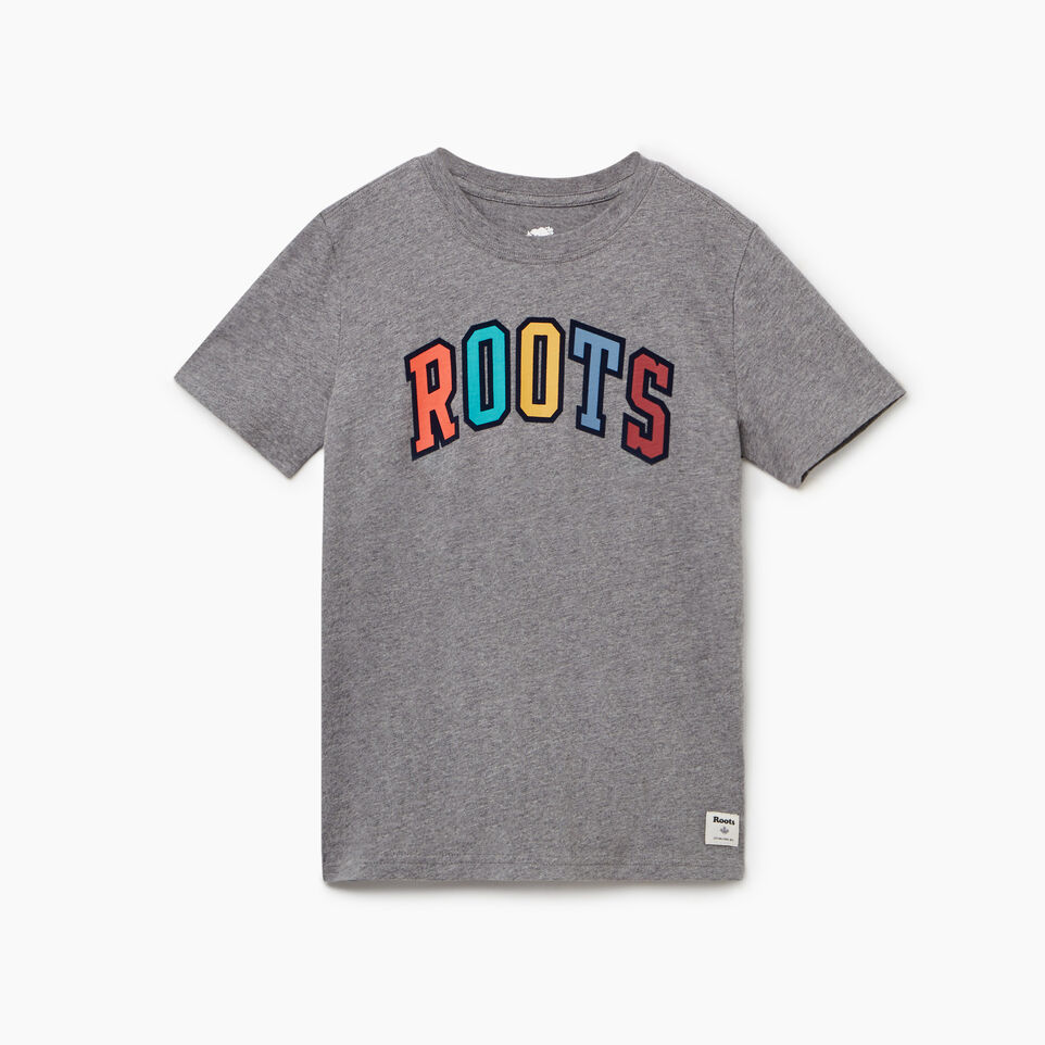 Roots-undefined-Boys Arch Roots T-shirt-undefined-A