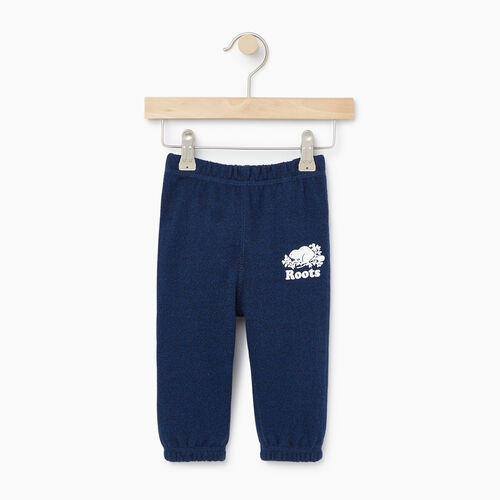 Roots-Clearance Kids-Baby Original Sweatpant-Active Blue Pepper-A
