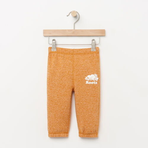 Roots-Winter Sale Baby-Baby Original Sweatpant-Squash Yellow Pepper-A