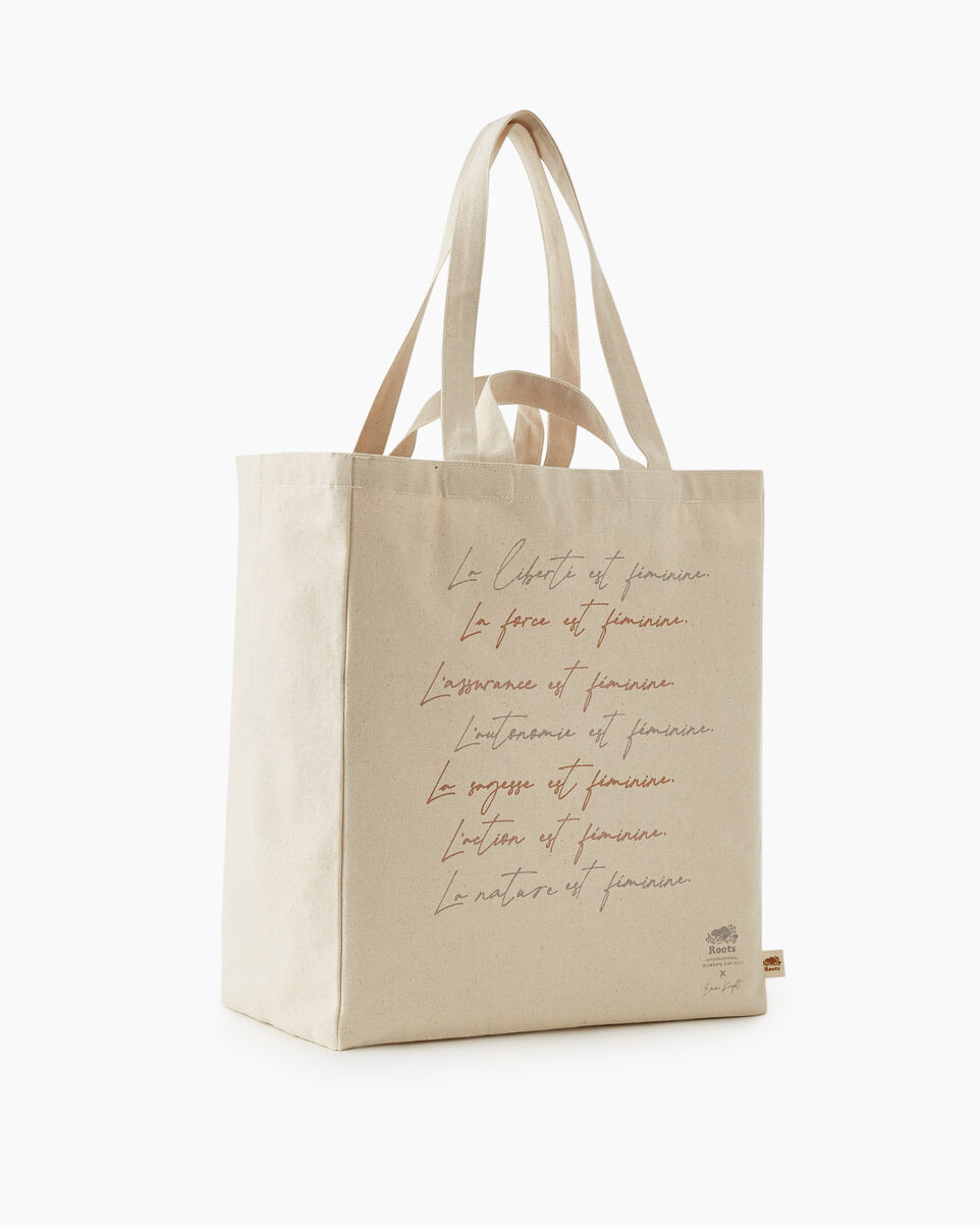 Root for Women tote bag