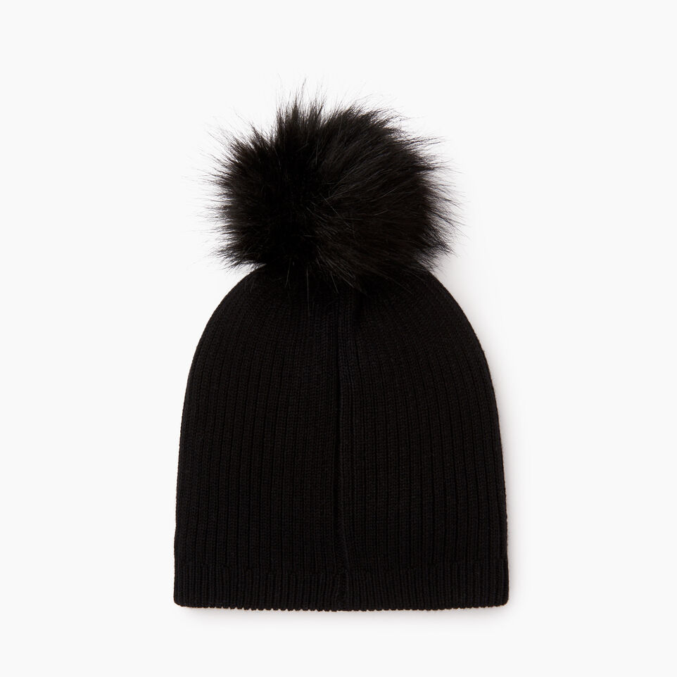 Roots-undefined-Robson Faux Fur Pom Pom Toque-undefined-C