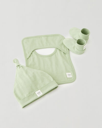 Roots-Kids Baby-Roots Baby's First Accessories-Leafy Green-A
