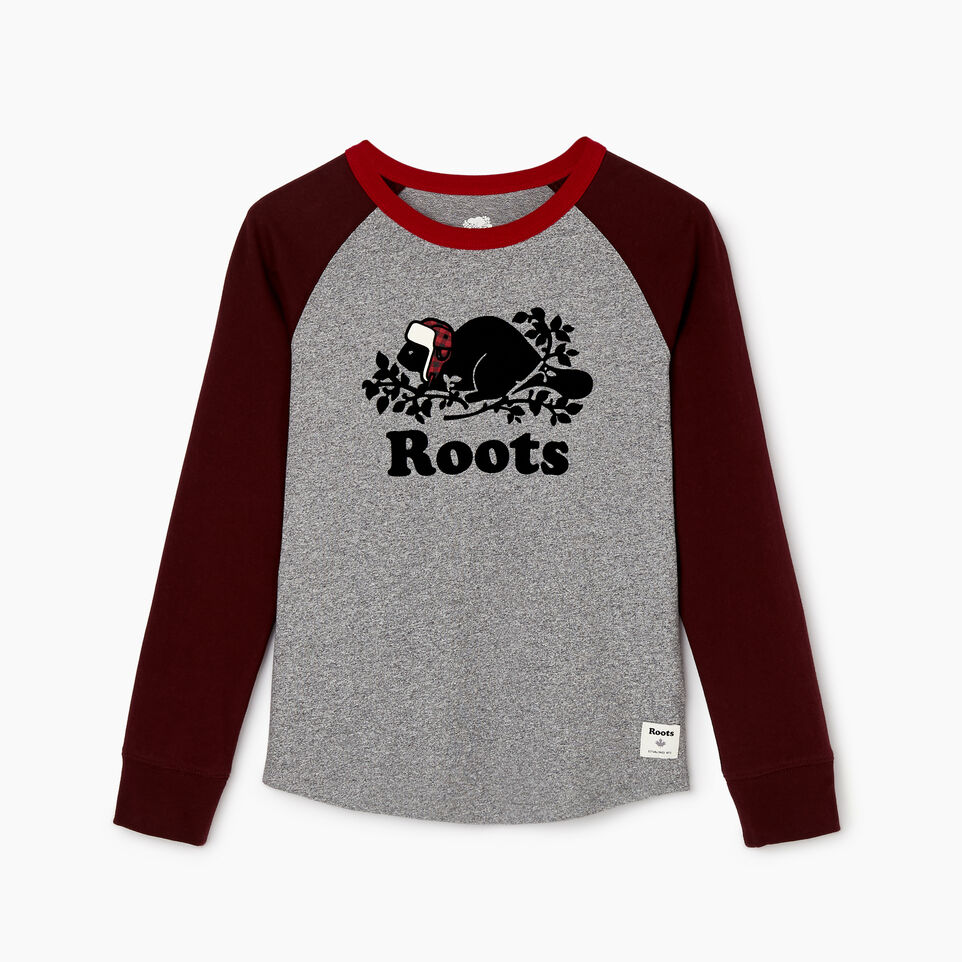 Roots-undefined-Boys Buddy Raglan T-shirt-undefined-A