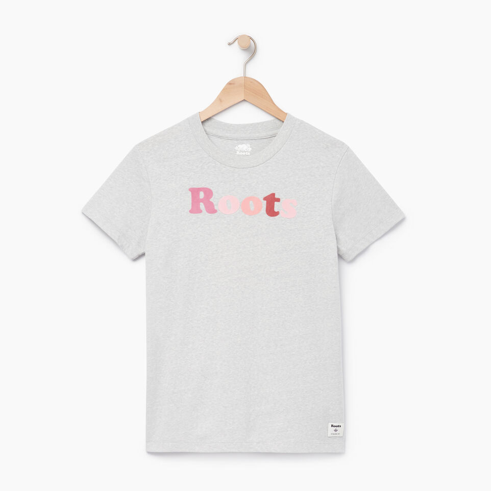 Roots-undefined-Womens Rainbow Roots T-shirt-undefined-A