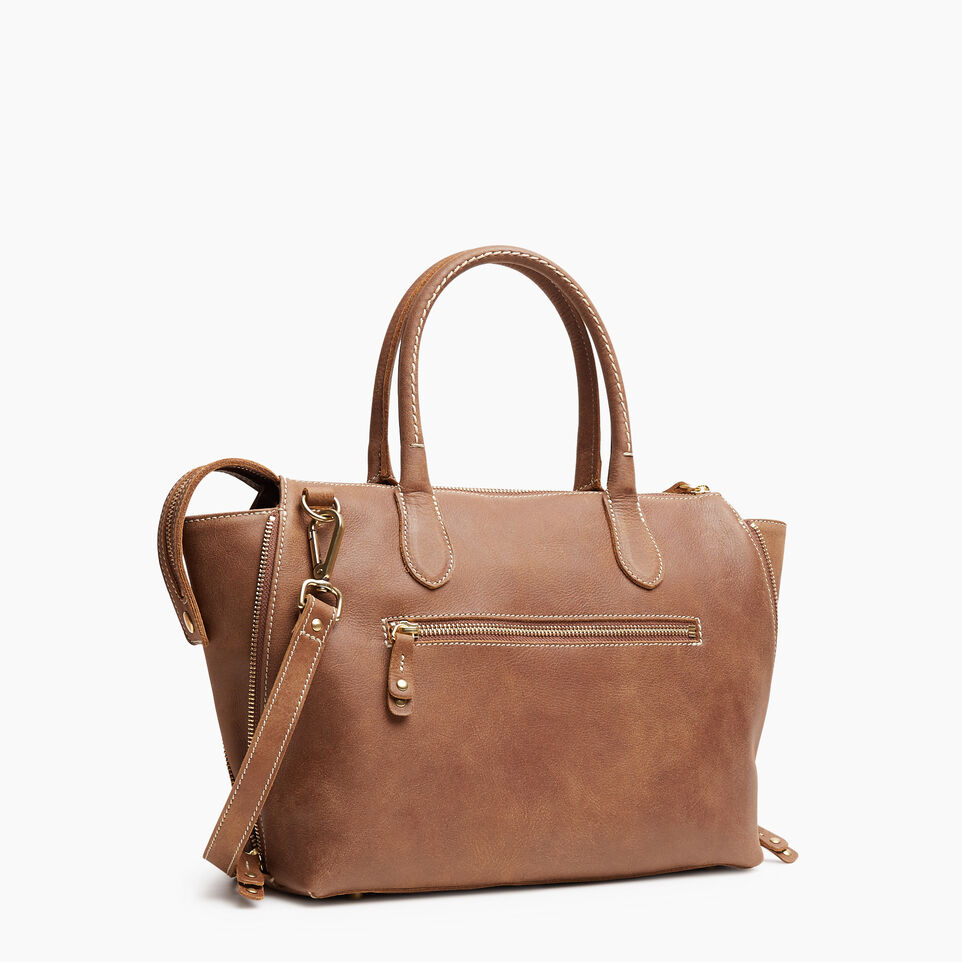 Roots-Leather New Arrivals-Arianna Bag Tribe-Natural-C