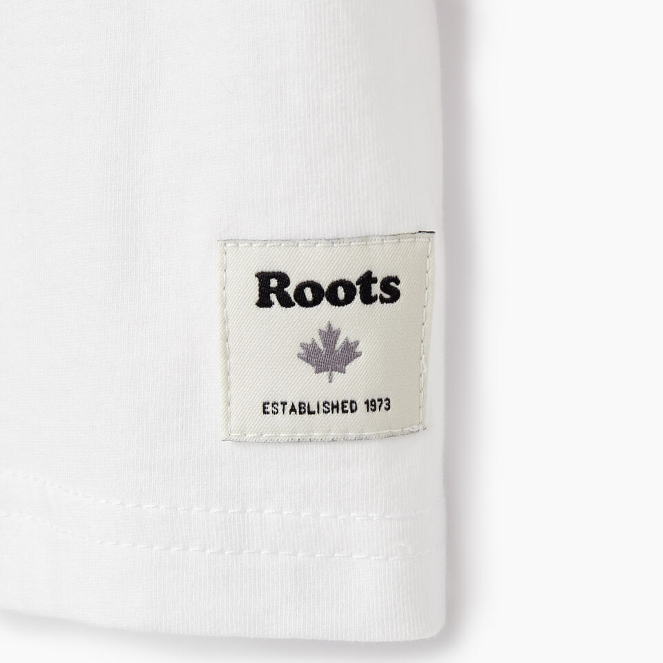 Roots-Kids Our Favourite New Arrivals-Girls Roamer T-shirt-Crisp White-D