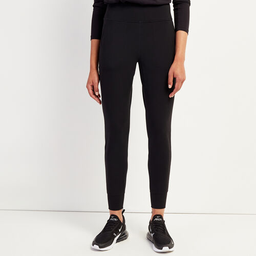 Roots-New For November Journey Collection-Journey Knit Jogger-Black-A