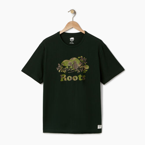 Roots-Men Our Favourite New Arrivals-Mens Cooper Woodlands T-shirt-Pine Grove-A