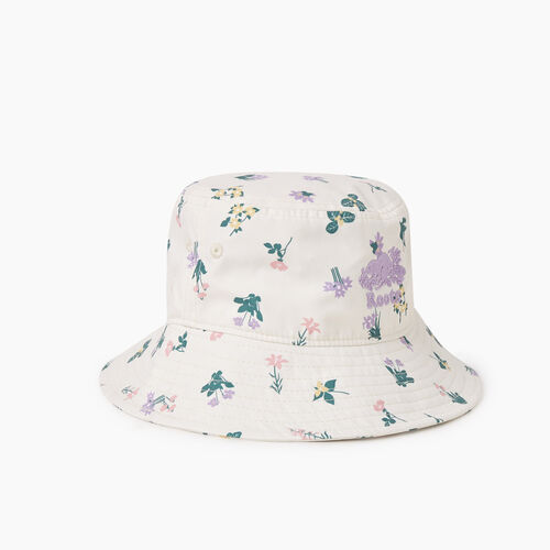 Roots-Kids Accessories-Toddler Botanical Bucket Hat-Multi-A