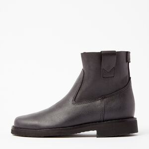 Roots-Women Boots-Shorty Boot Tribe-Jet Black-A