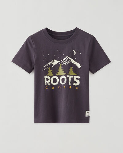 Roots-Kids Tops-Toddler Outdoor Glow T-shirt-Forged Iron-A