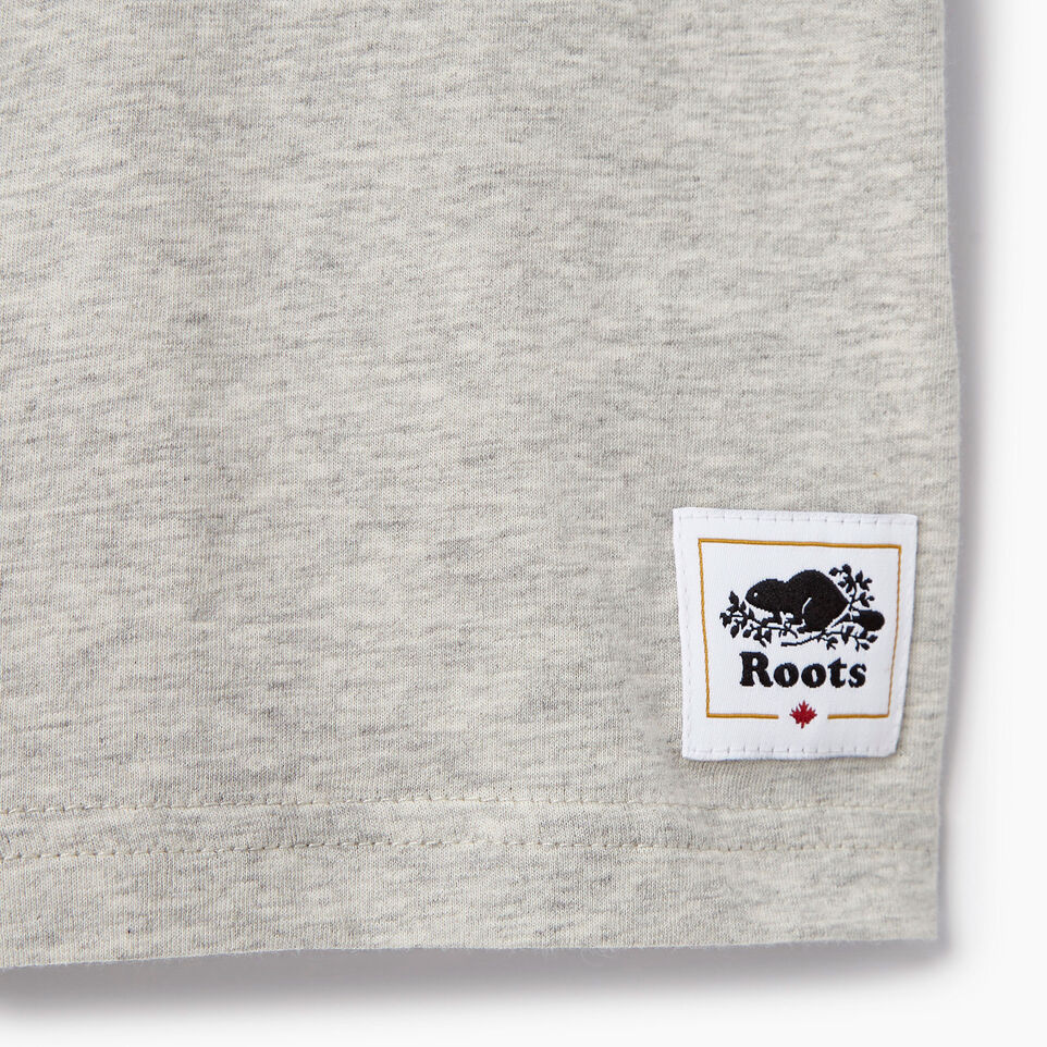 Roots-Kids Our Favourite New Arrivals-Boys Canada T-shirt-Grey Mix Pepper-C