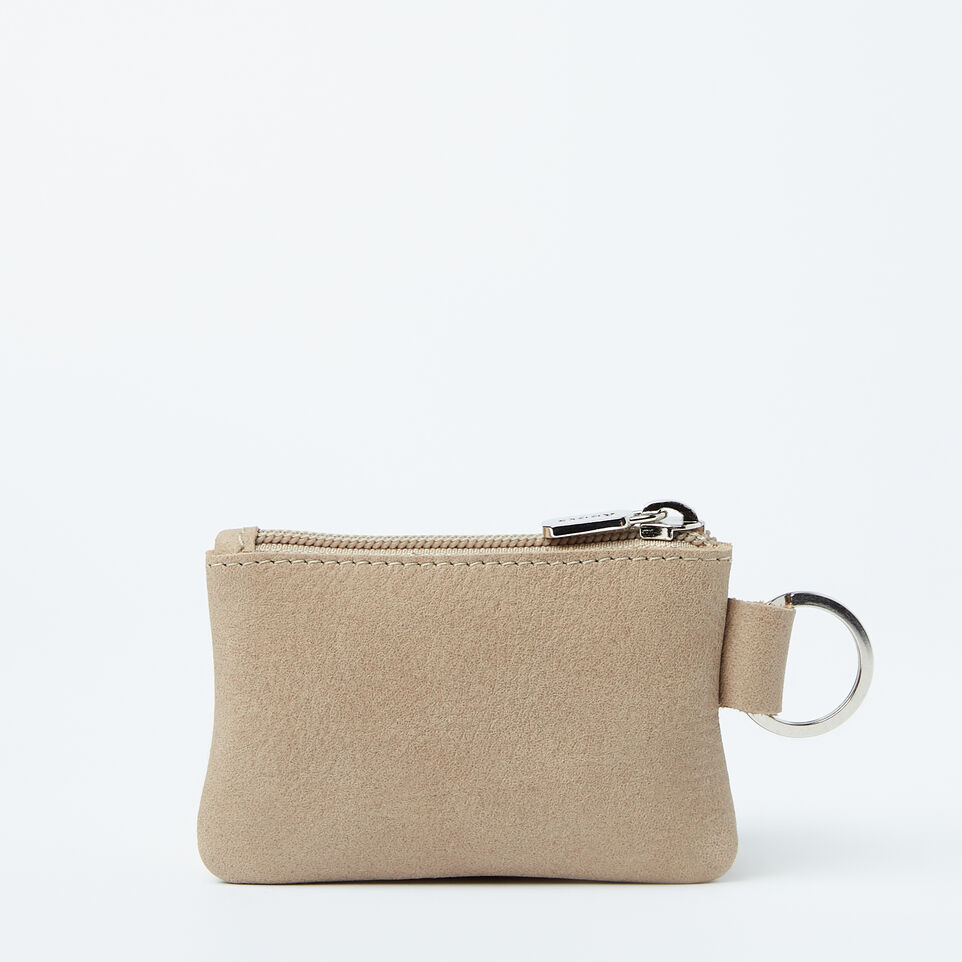 Roots-undefined-Top Zip Key Pouch Tribe-undefined-A