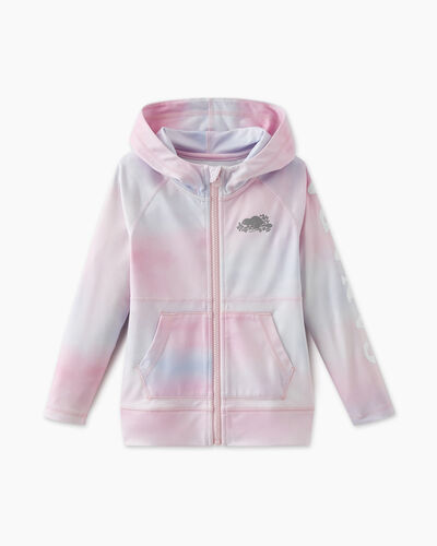 Roots-Sweats Toddler Girls-Toddler Lola Active Full Zip Hoody-Multi-A