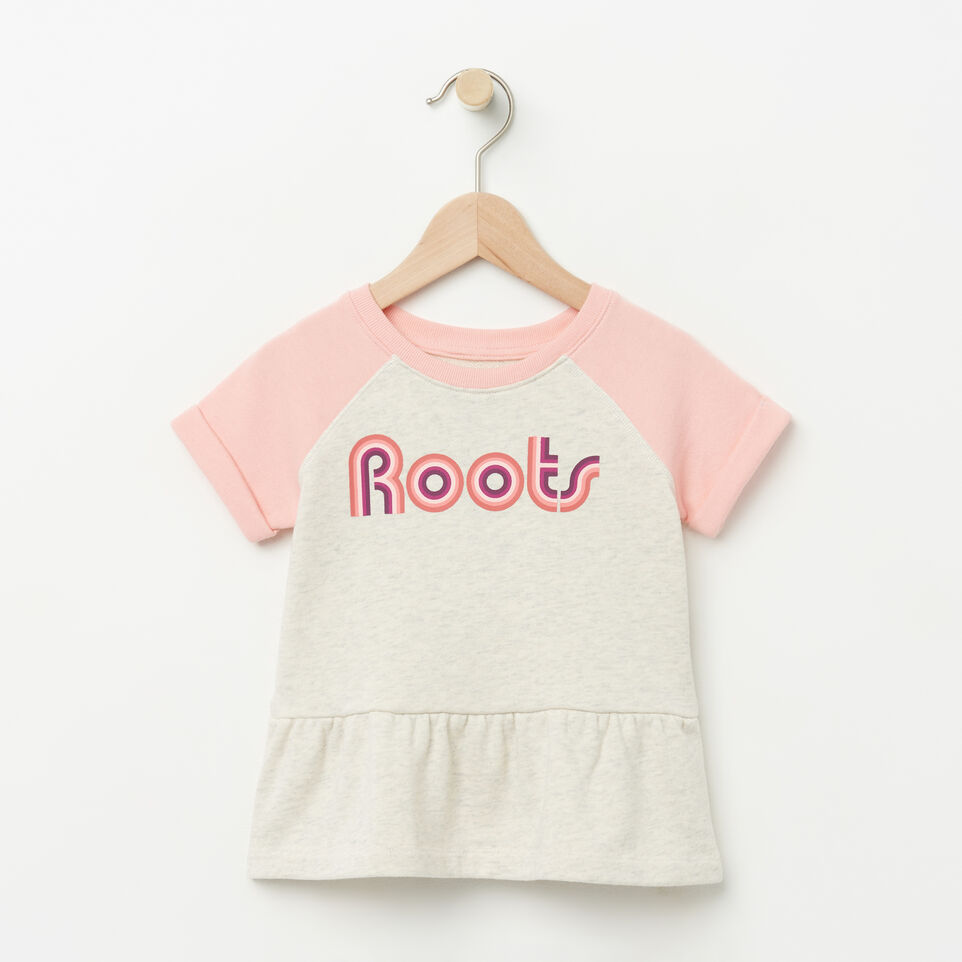Roots-undefined-Toddler Short Sleeve Peplum Crew-undefined-A