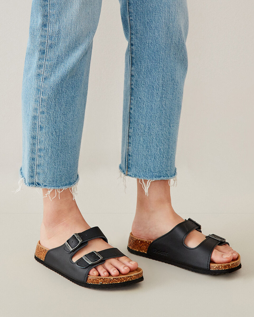 Roots-undefined-Womens Natural 2 Strap Sandal-undefined-B