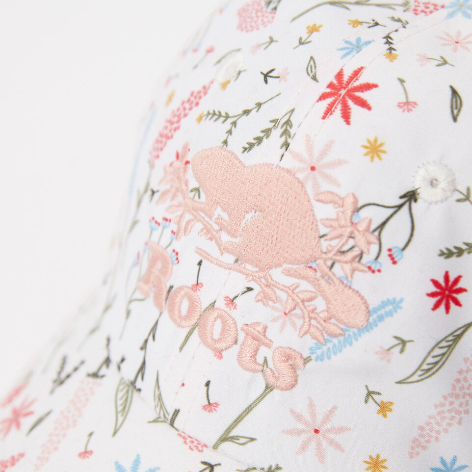 Roots-undefined-Girls Cooper Floral Baseball Cap-undefined-D