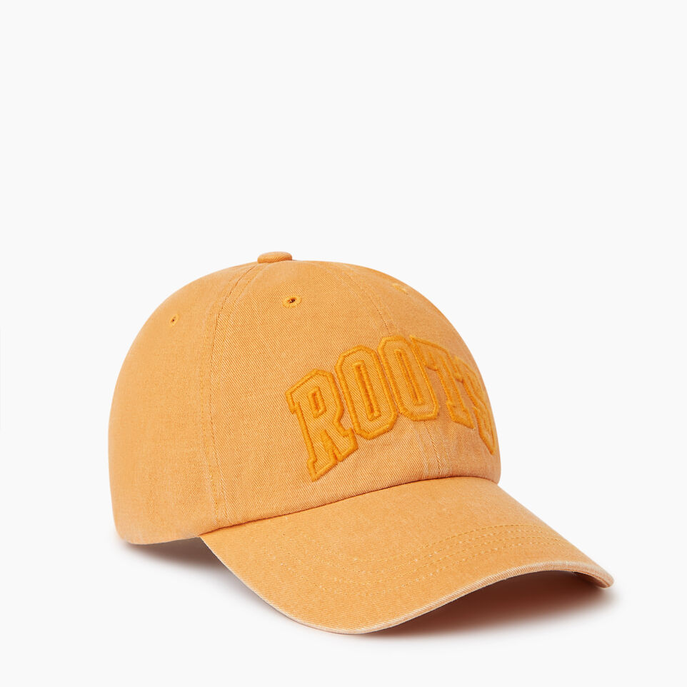Roots-Men Our Favourite New Arrivals-Strathcona Baseball Cap-Jaffa Orange-A