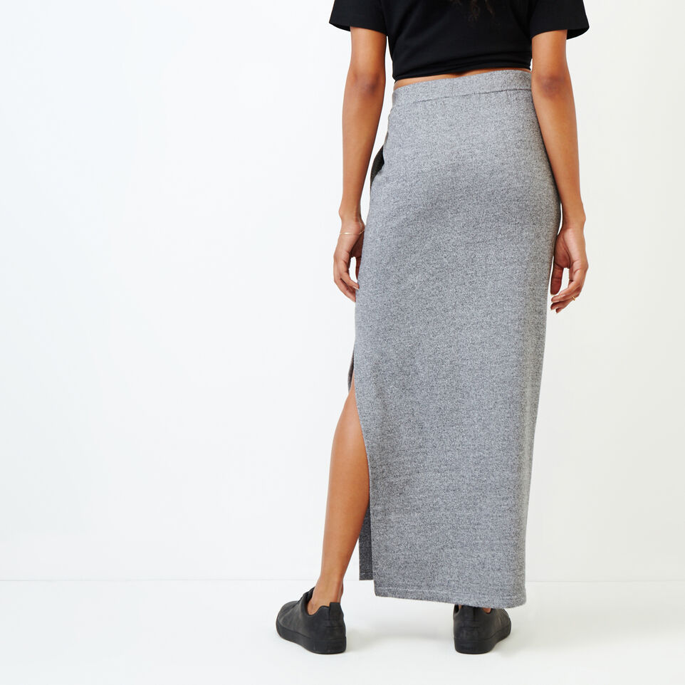 Roots-undefined-Roots Salt and Pepper High Waist Skirt-undefined-D