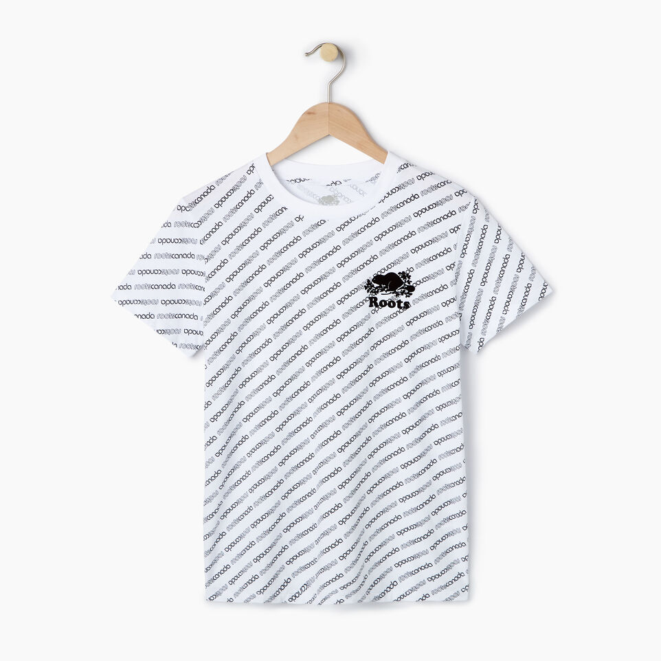 Roots-New For July Daily Offer-Womens Peleton T-shirt-Crisp White-A