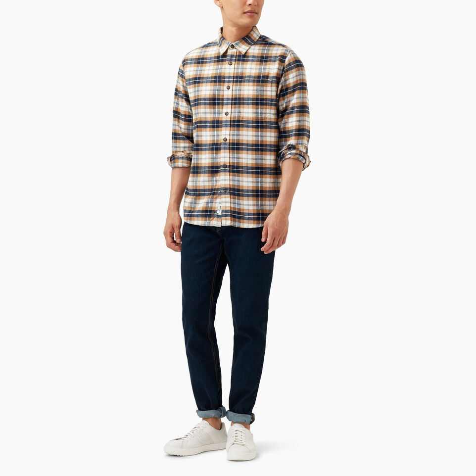 Roots-undefined-Maple Flannel Shirt-undefined-B