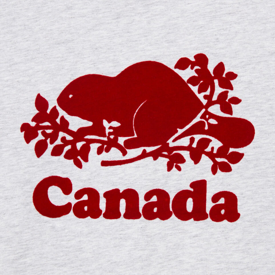 Roots-New For August Kids-Girls Canada T-shirt-Snowy Ice Mix-D
