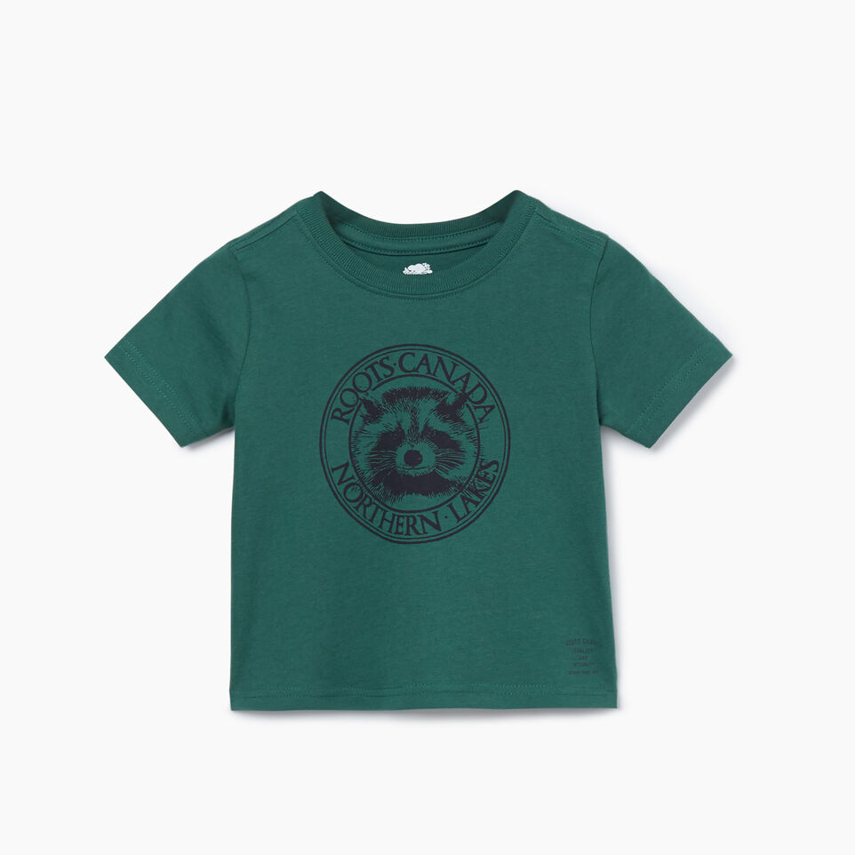 Roots-undefined-Baby Cooper Animal T-shirt-undefined-A