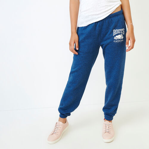Roots-Women Our Favourite New Arrivals-Classic Boyfriend Sweatpant-Olympus Blue Mix-A
