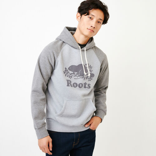 Roots-Men Our Favourite New Arrivals-Cooper Kanga Hoody-Quarry Mix-A