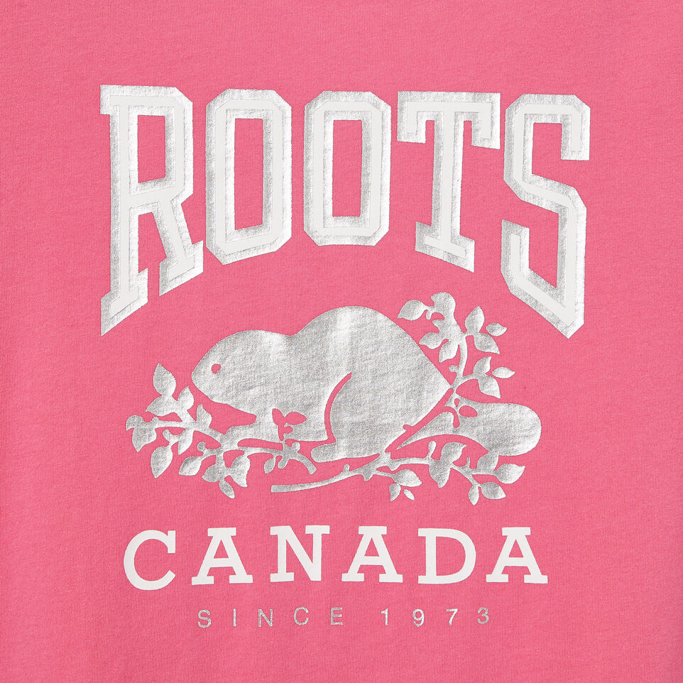 Roots-undefined-T-Shirt Swing pour filles-undefined-D