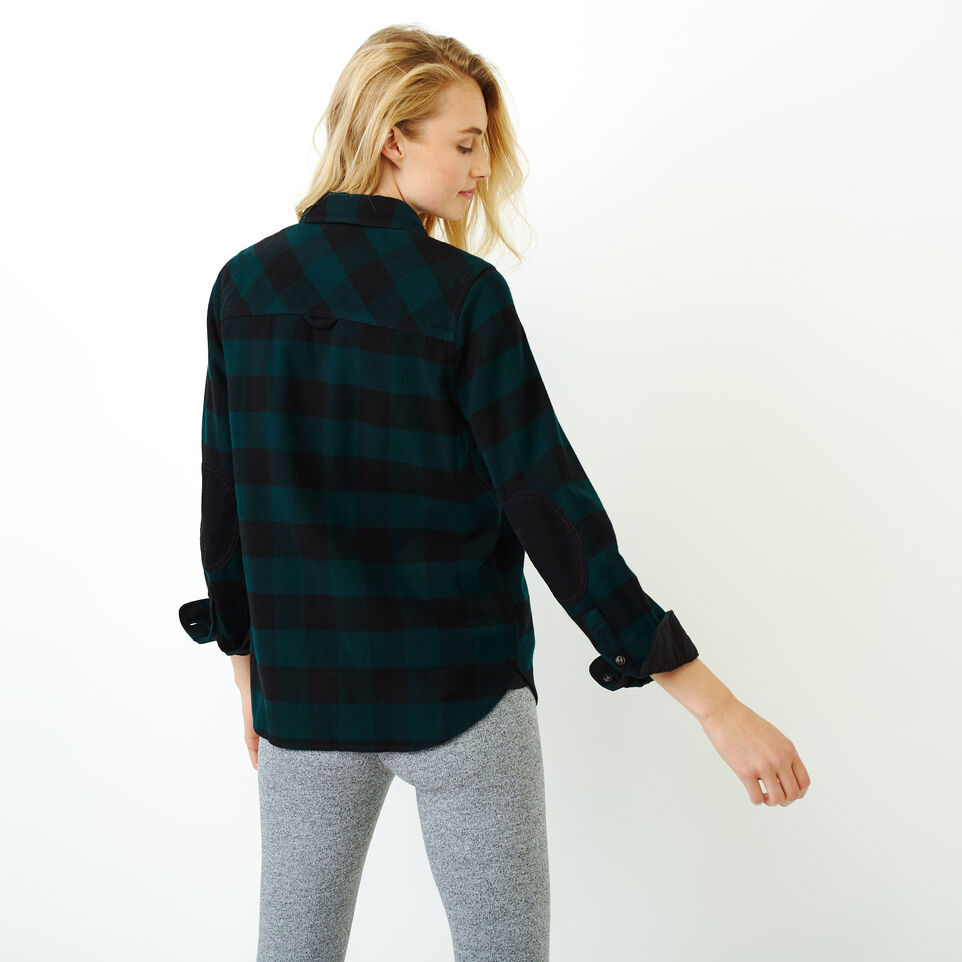 Roots-New For December Today Only: 40% Off Park Plaid Collection-Park Plaid Shirt-Park Green-D