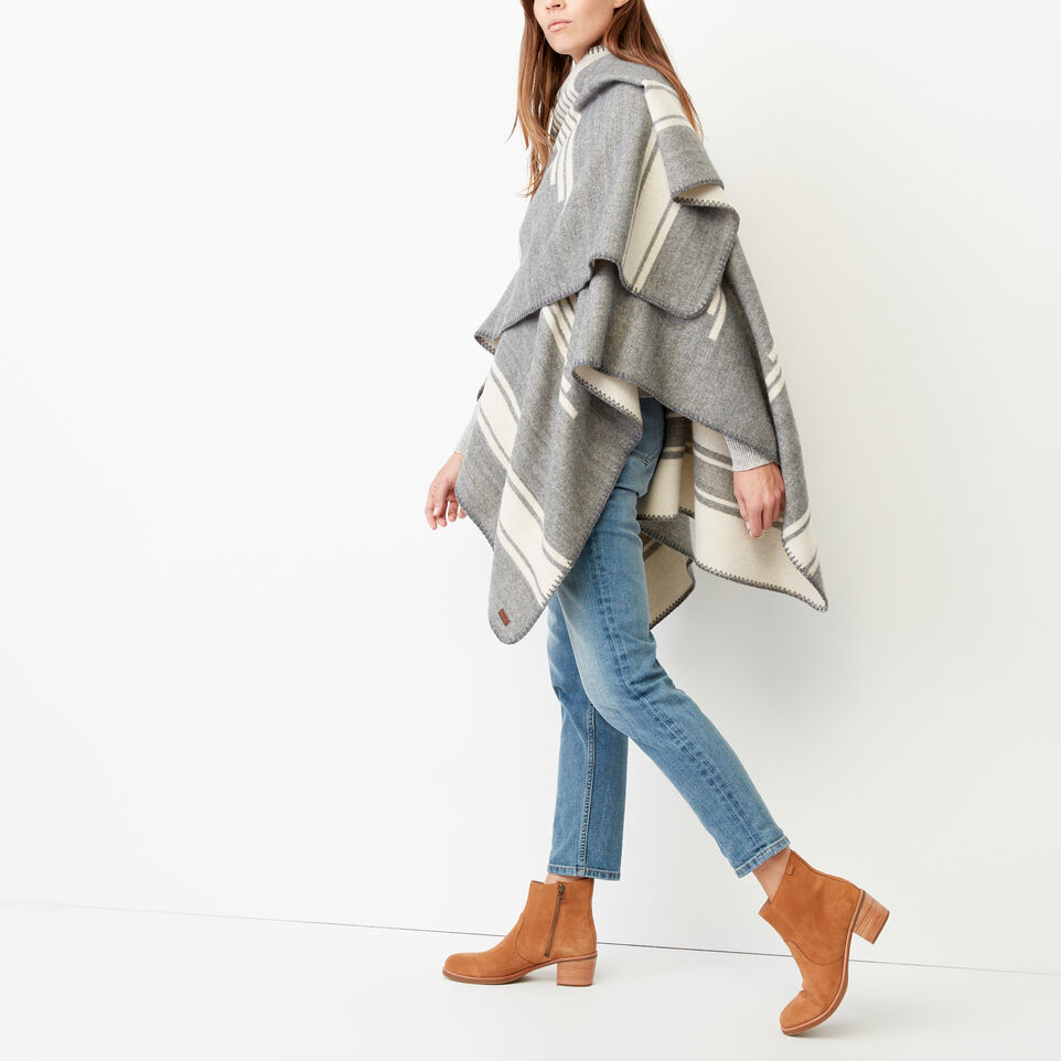 Roots-Women Our Favourite New Arrivals-Tolman Wrap-Grey Mix-B