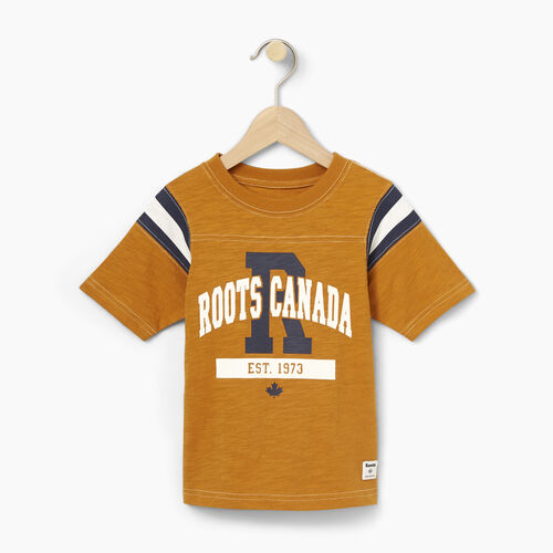 Roots-Winter Sale Toddler-Toddler Varsity Top-Lemieux Gold-A