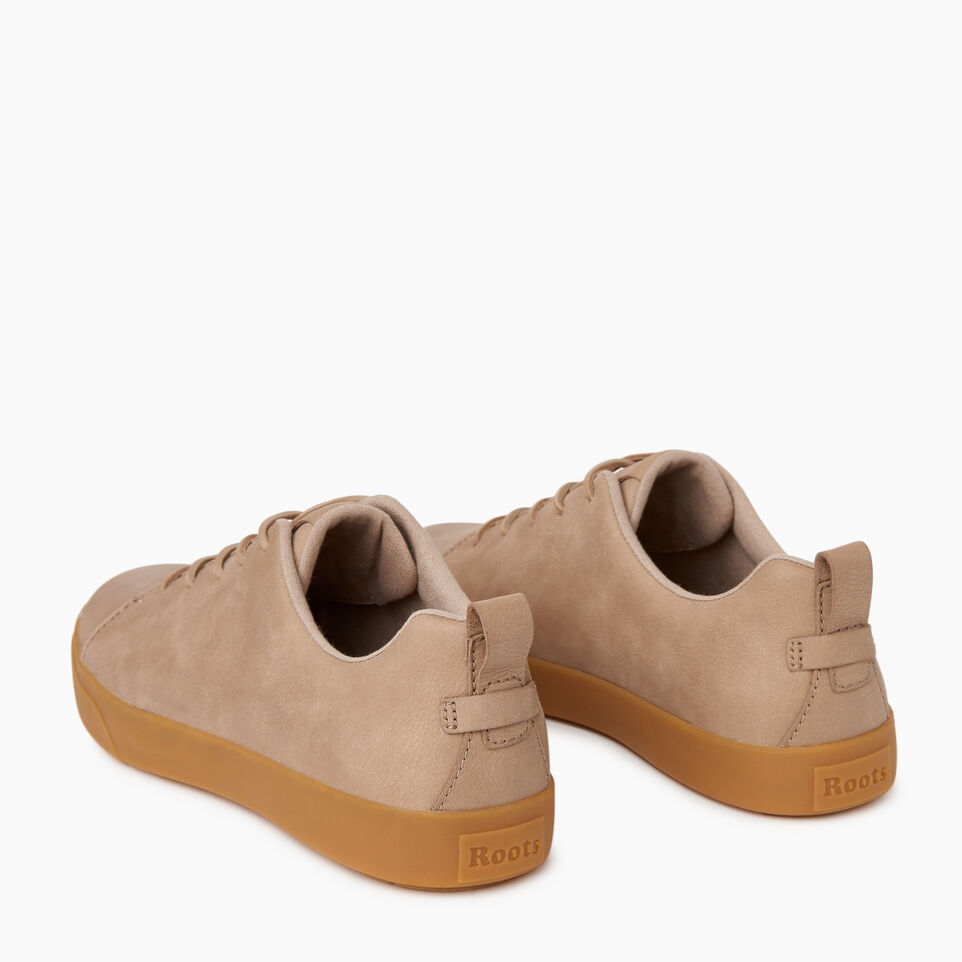 Roots-Men Footwear-Mens Parkdale Sneaker-Sand-E